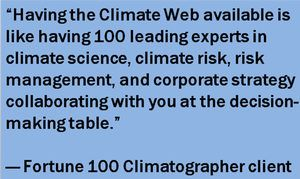quote climate web is like having 100 experts