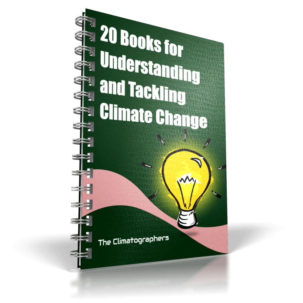 report cover 20 books for understanding climate change
