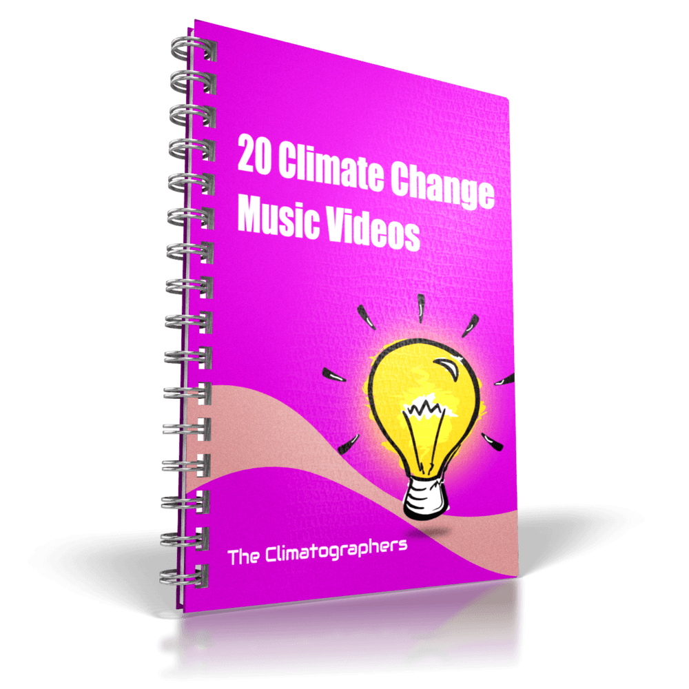 report cover 20 climate change music videos