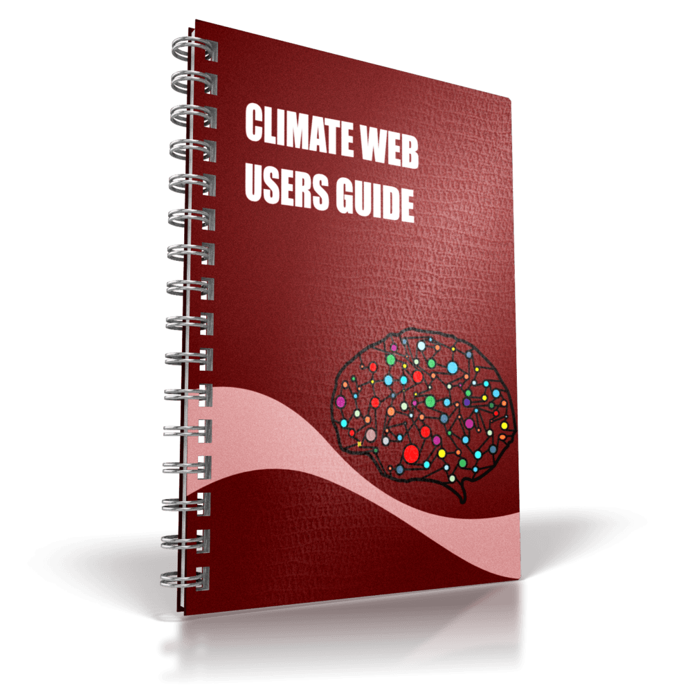 book cover climate web users guide