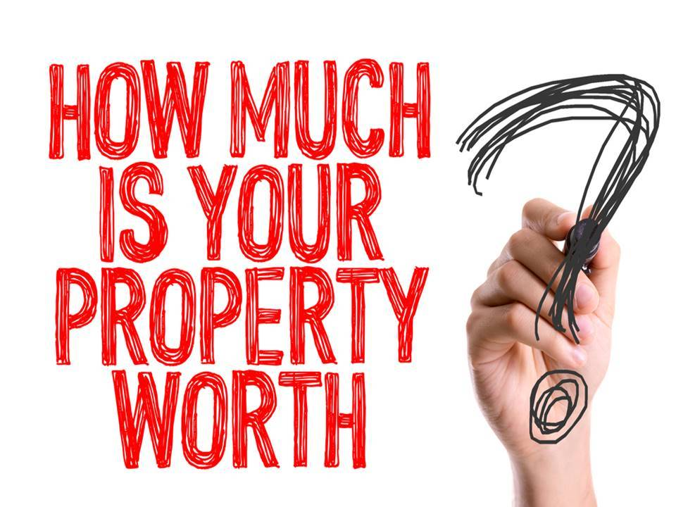 words how much is your property worth