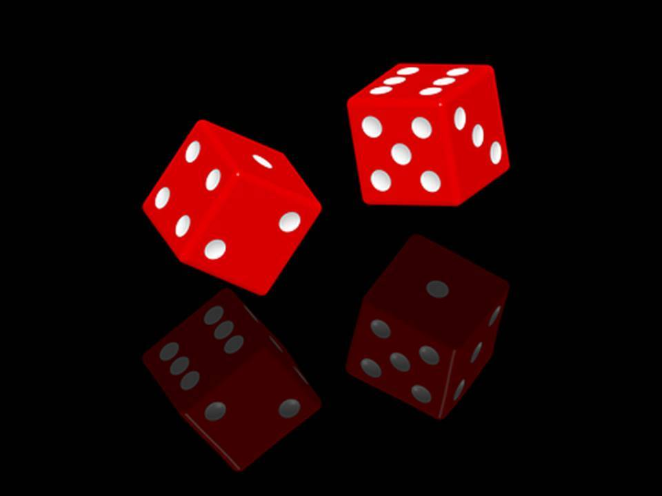 red dice black background