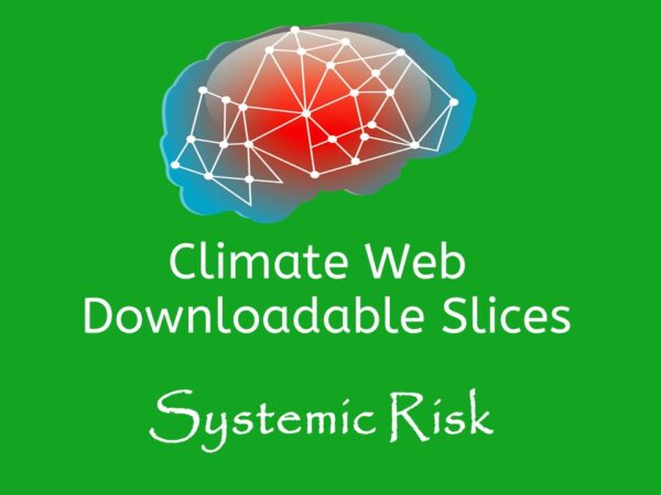 brain on green background words climate web downloadable slice systemic risk
