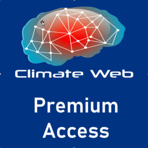 blue background words climate web premium access