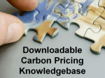 carbon pricing knowledge base