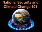 national security and climate 101 globe underneath
