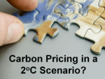 carbon pricing in a 2oC scenario