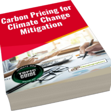 book cover carbon pricing ebook