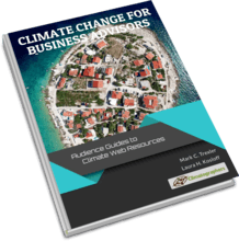 book cover climate change for business advisors