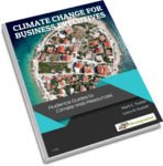 book cover climate change for business executives
