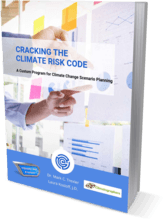 book cover climate change scenario planning